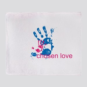 i'll hold your hand Throw Blanket