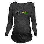 Christmas Cash Long Sleeve Maternity T-Shirt