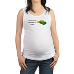 Christmas Cash Maternity Tank Top