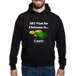 Christmas Cash Hoodie (dark)