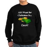 Christmas Cash Sweatshirt (dark)