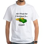 Christmas Cash White T-Shirt
