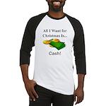 Christmas Cash Baseball Jersey