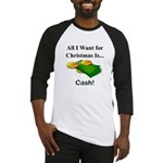 Christmas Cash Baseball Jersey