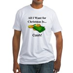 Christmas Cash Fitted T-Shirt