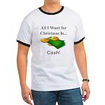 Christmas Cash Ringer T