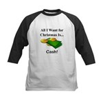 Christmas Cash Kids Baseball Jersey