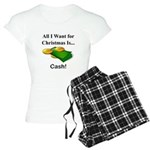 Christmas Cash Women's Light Pajamas