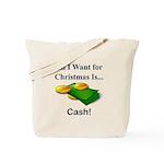 Christmas Cash Tote Bag