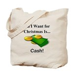 Christmas Cash Tote Bag