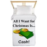Christmas Cash Twin Duvet