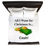 Christmas Cash King Duvet