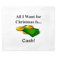 Christmas Cash King Duvet