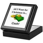 Christmas Cash Keepsake Box