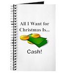 Christmas Cash Journal