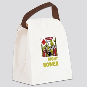 Right Bower Canvas Lunch Bag