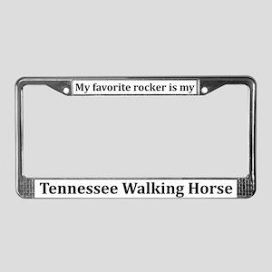 Tennessee Walker License Plate Frame