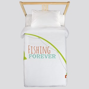 Fishing Forever Twin Duvet