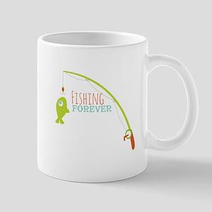 Fishing Forever Mugs
