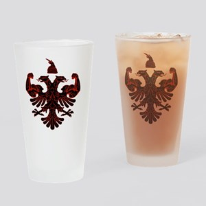 Albanian Power Drinking Glass