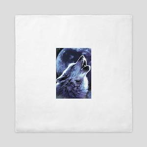 moon wolf Queen Duvet