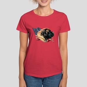 Mastiff(apr) Flag Women's Dark T-Shirt