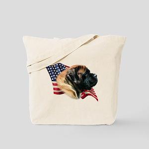 Mastiff(apr) Flag Tote Bag