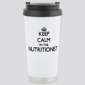 Keep calm I'm the Nutri Stainless Steel Travel Mug