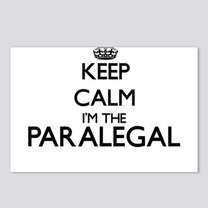 Keep calm I'm the Paraleg Postcards (Package of 8)