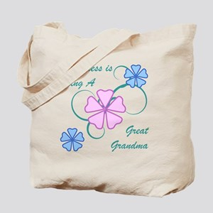 Happiness Great Grandma Tote Bag