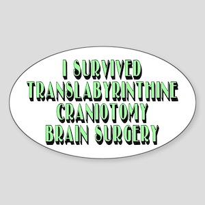 Translabyrinthine - Sticker (Oval)