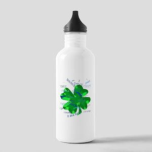 Shamrock Dancing Water Bottle