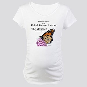 Monarch Butterfly Maternity T-Shirt