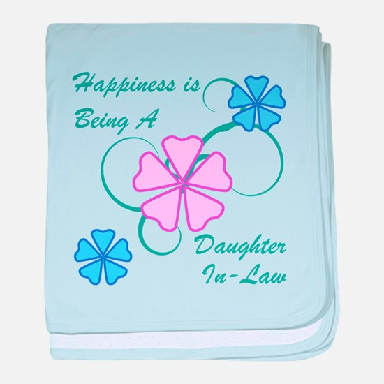 Happiness Daughter-In-Law baby blanket