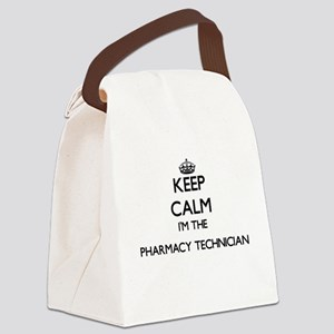 Keep calm I'm the Pharmacy Techni Canvas Lunch Bag