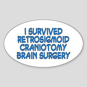 Retrosigmoid - Sticker (Oval)