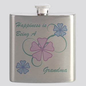 Happiness Grandma Flask
