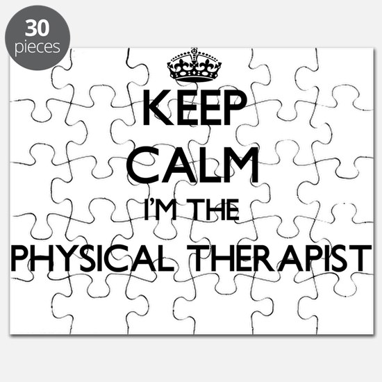 Keep calm I'm the Physical Therapist Puzzle