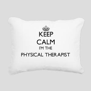 Keep calm I'm the Physic Rectangular Canvas Pillow