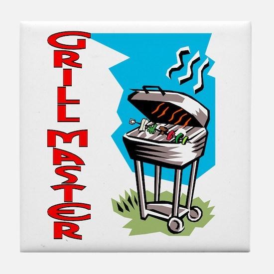 Grill Master Tile Coaster