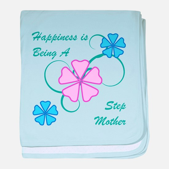 Happiness Stepmother baby blanket