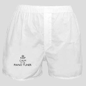 Keep calm I'm the Piano Tuner Boxer Shorts