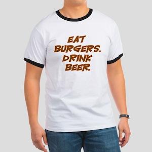 Burgers & Beer Ringer T