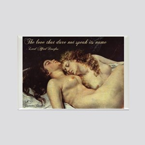Courbet-Sleepers Rectangle Magnet