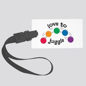 Love To Juggle Luggage Tag