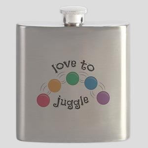 Love To Juggle Flask
