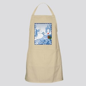 Country Christmas BBQ Apron
