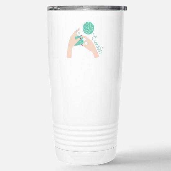 Crochet Travel Mug
