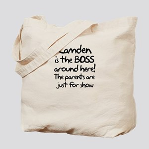 Camden is the Boss Tote Bag