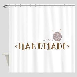 Handmade Shower Curtain